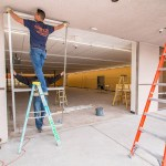 Assembly Of Family Dollar Commercial Storefront Frame - A Cutting Edge Glass & Mirror