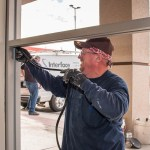 Vinyl Seal Installation - A Cutting Edge Glass & Mirror Of Las Vegas, Nevada