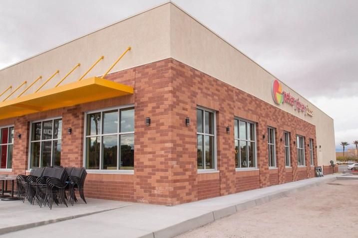 NE Corner of Peter Piper Pizza - Location Russel & Eastern Mccarran Marketplace Shopping Center