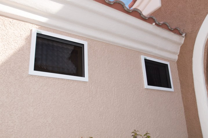 Finished Product Installation - Guarda Security Screen Installation