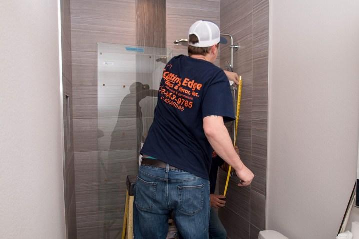 Henderson, Nevada Custom Shower Door Installation - Skyline Shower Door System