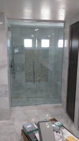 A Cutting Edge Glass & Mirror - Shower and Inline Panel Floor to Ceiling