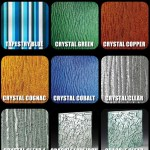 Specialty Textured Glass Library Samples