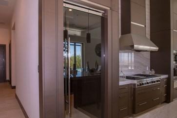 Custom Pantry Door - A Cutting Edge Glass & Mirror