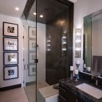 High-End Frameless Shower Door Enclosure System
