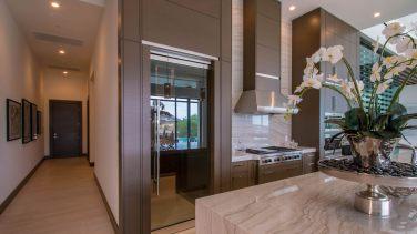 Glass Pantry Door - Sunwest Custom Home Glass
