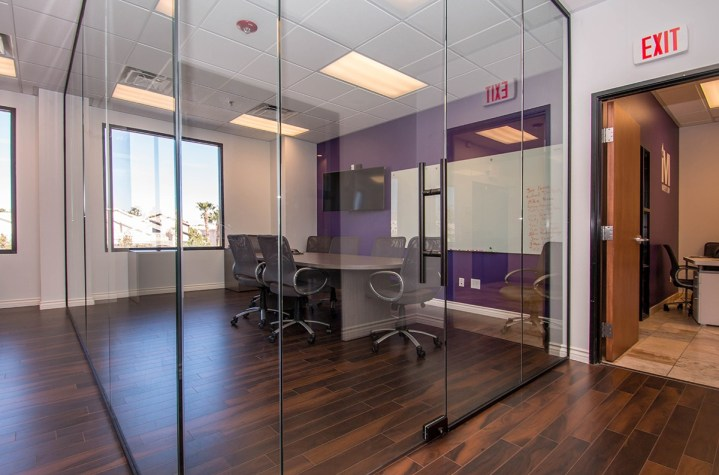 Marsy's Law Offices - Commercial Glass Wall