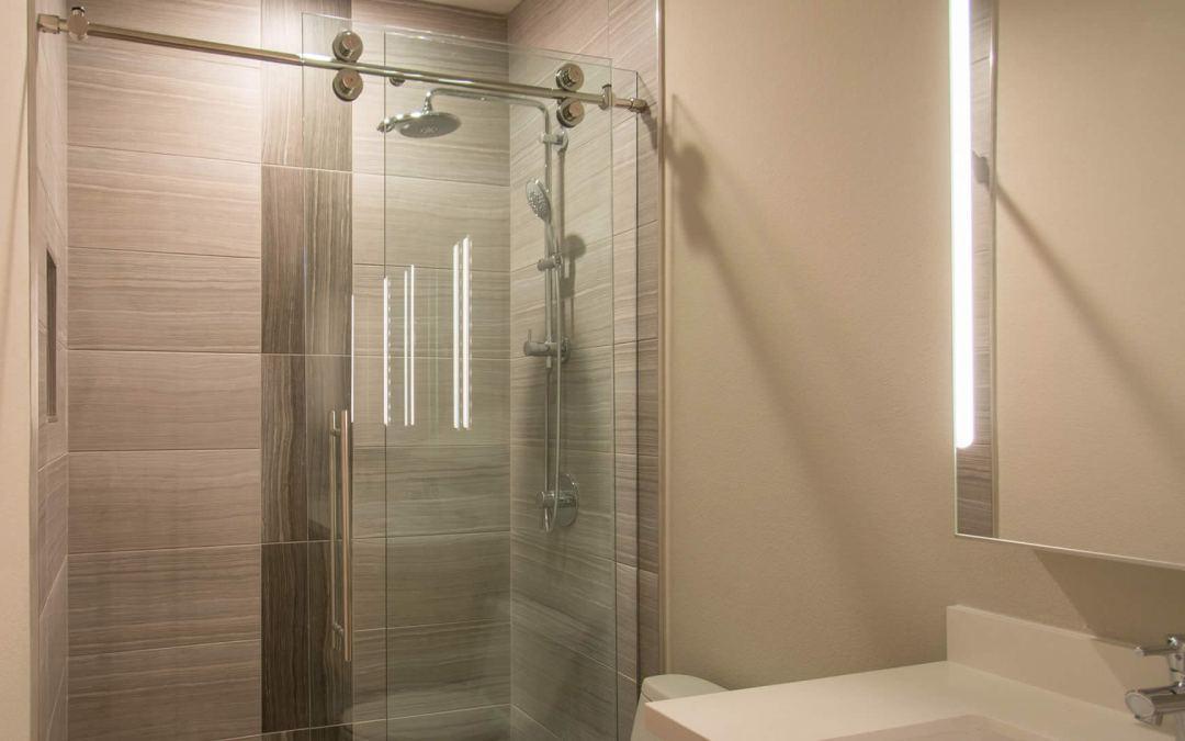 Skyline Frameless Shower Door system | A Cutting Edge Glass & Mirror
