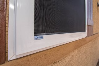 Close-up of Security Screen - A Cutting Edge Glass & Security Screens