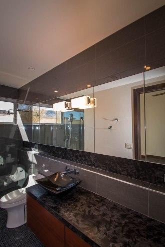 Custom Bathroom Glass & Mirror