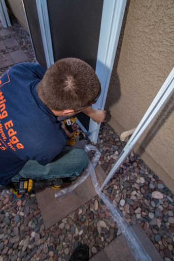 Installation of Security Screen Products