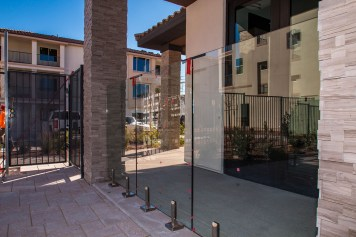 Vue at Centennial Apartments - Custom Concealed Glass Barrier Sy