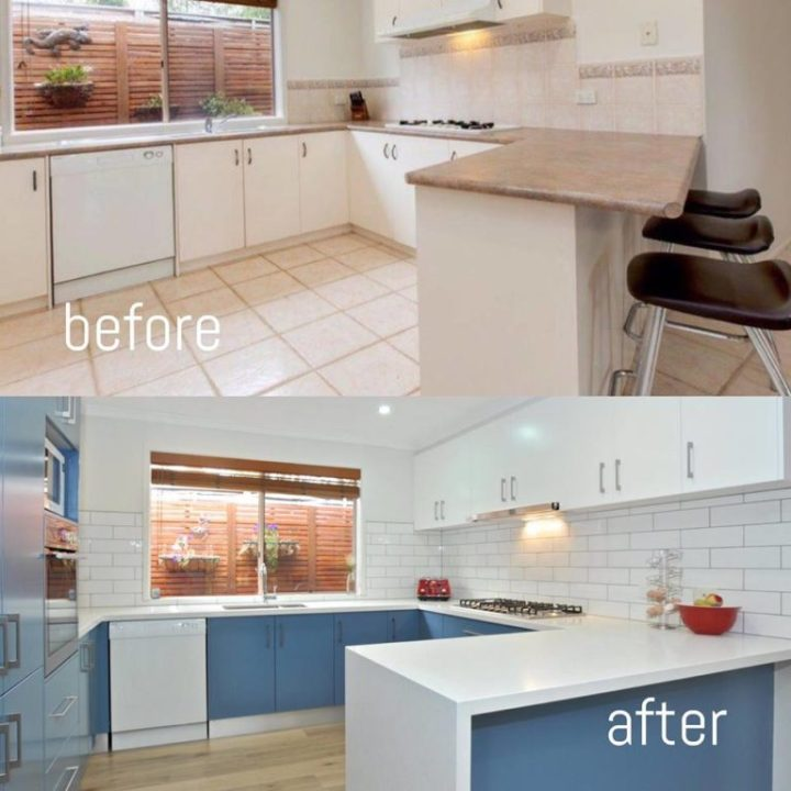 AC&V Kitchens Melbourne Before & After, New Kitchen