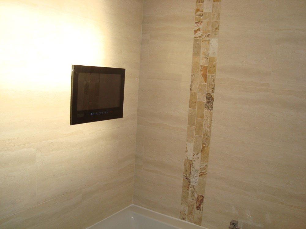 tv at end bath