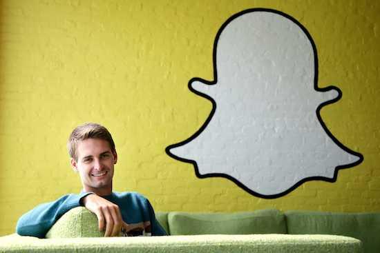 Fondateur Snapchat