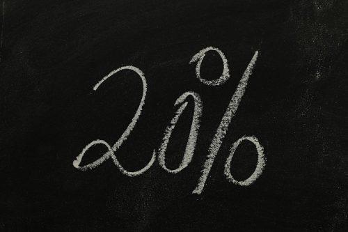 通訳案内士直近5年間の合格率は約20パーセント