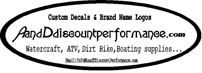 Watercraft : A and D Discount Performance, Powersports