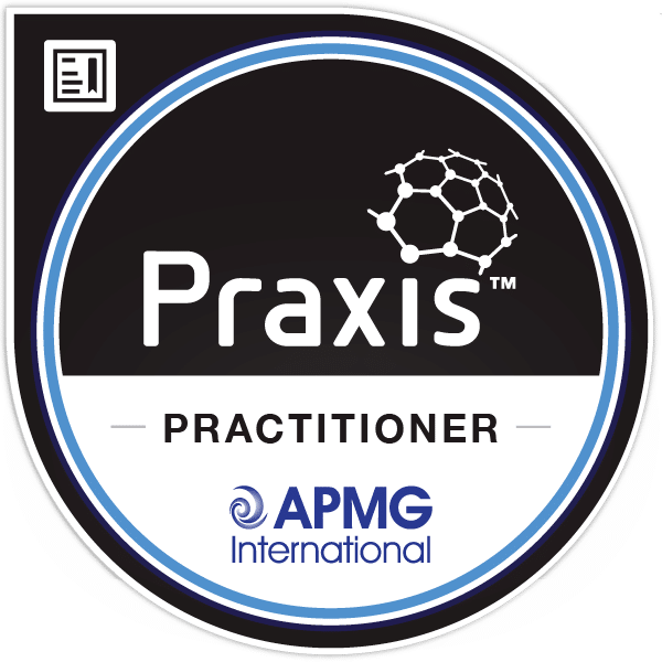 Praxis Practitioner logo - APMG International