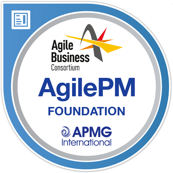 AgilePM Foundation logo - APMG International