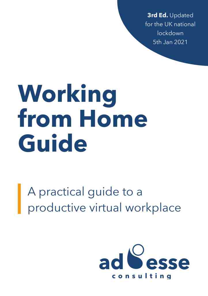 Ad Esse Working from Home guide