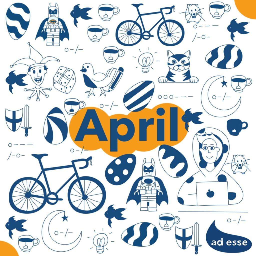 April Goal Tracker 2021 Calendar by Ad Esse Consulting