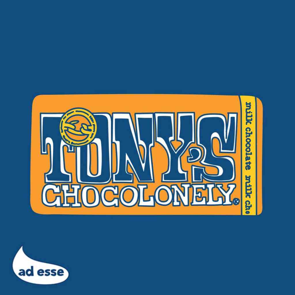 Tony's Chocolonely illustration by Ad Esse Consulting