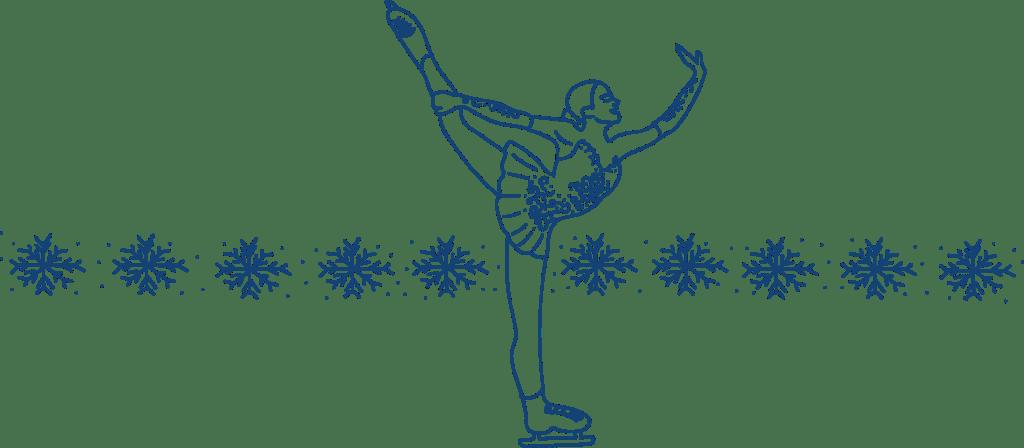 Ad Esse Consulting ice skater illustration