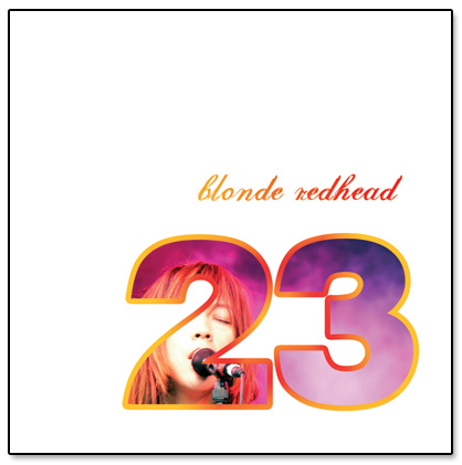Blonde Redhead 23 CD Album Design Packaging By Kenny Chung