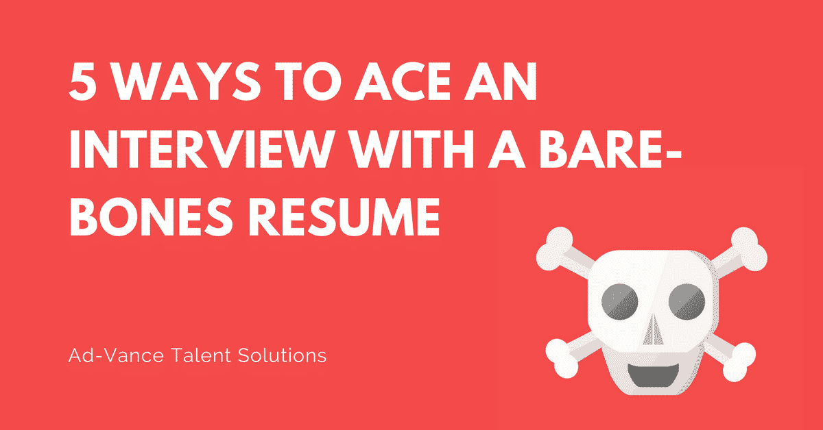 Resume Tips | Ad-Vance