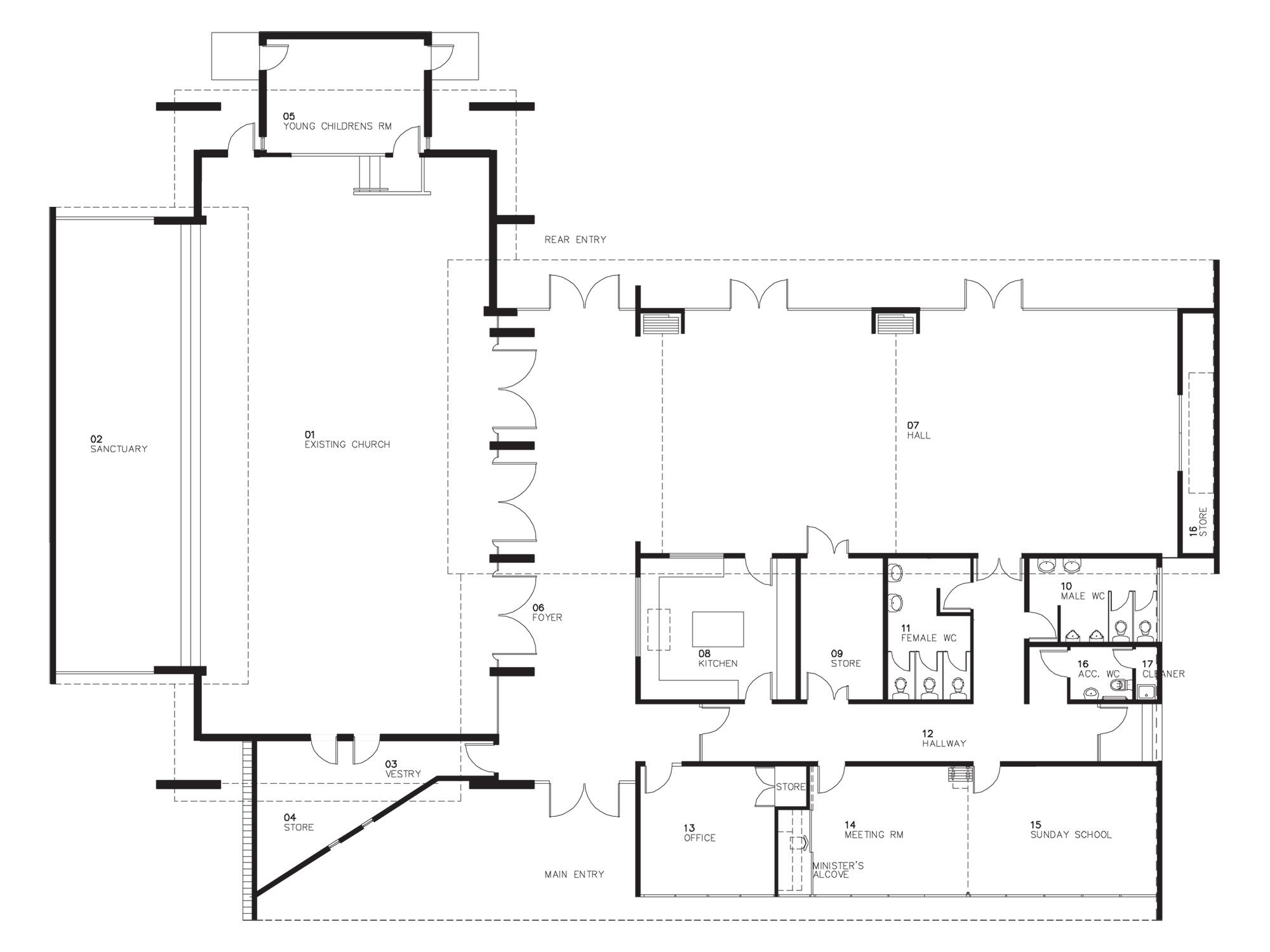 Church Floor Plan Designs