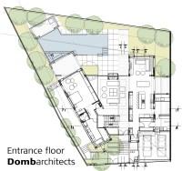 Architecture Photography: entrance floor plan (132460)