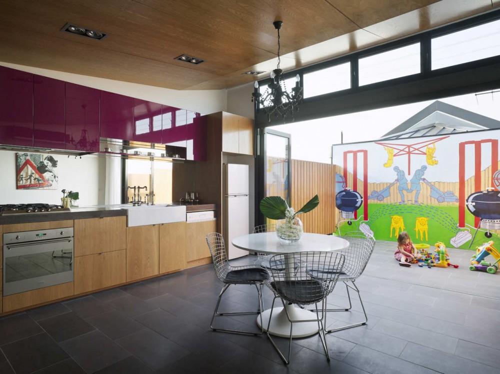 Perforated House / Kavellaris Urban Design © Kavellaris Urban Design