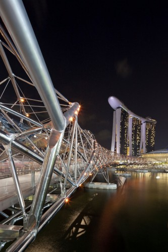Helix Bridge  Cox Architecture With Architects 61 Archdaily