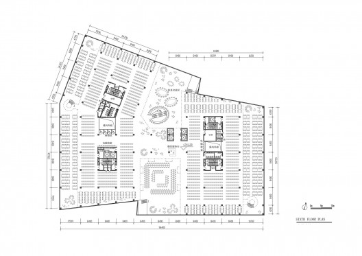 Hebei University Library Winning Proposal / Damian Donze