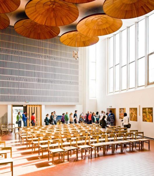AD Classics Stephanuskirche  Alvar Aalto  ArchDaily