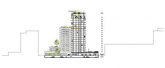 Housing Units in Nantes Winning Proposal / Hamonic