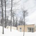 Blue Hills House / la SHED architecture © Maxime Brouillet