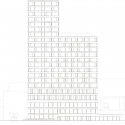 AvB Tower / Wiel Arets Architects North Elevation