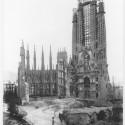 AD Classics: La Sagrada Familia / Antoni Gaudi 1925 © Expiatory Temple of the Sagrada Família