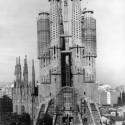 AD Classics: La Sagrada Familia / Antoni Gaudi 1974 © Expiatory Temple of the Sagrada Família