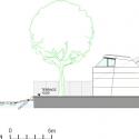 Bathing Hut / SHARE Architects West Elevation