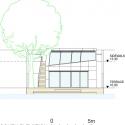 Bathing Hut / SHARE Architects South Elevation