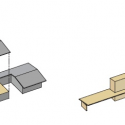 Midvale Courtyard House / Bruns Architecture Diagram