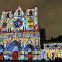 "Light Matters: Europe's Leading Light Festivals ""Les Chrysalides de Saint-Jean"" / Damien Fontaine - Fête des Lumières 2012. Image Courtesy of Ville de Lyon - Muriel Chaulet"