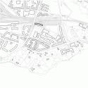 Maison des Etudiants / Lacroix Chessex Site Plan