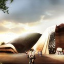"""GRAFT Wins """"Apassionata"""" with Iconic, Temporary Structure for Horse Shows Courtesy of Graft Architects"""