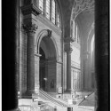 AD Classics: Pennsylvania Station / McKim, Mead & White Main waiting room from Northwest. Image © Cervin Robinson - Historic American Buildings Survey