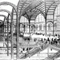 AD Classics: Pennsylvania Station / McKim, Mead & White Drawing of the concourse and tracks, published in the New York Times in 1906
