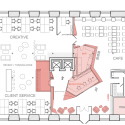 BBDO Moscow / Nefaresearch First Floor Plan