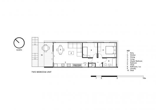 Studio 19 Community Housing / Strachan Group Architects